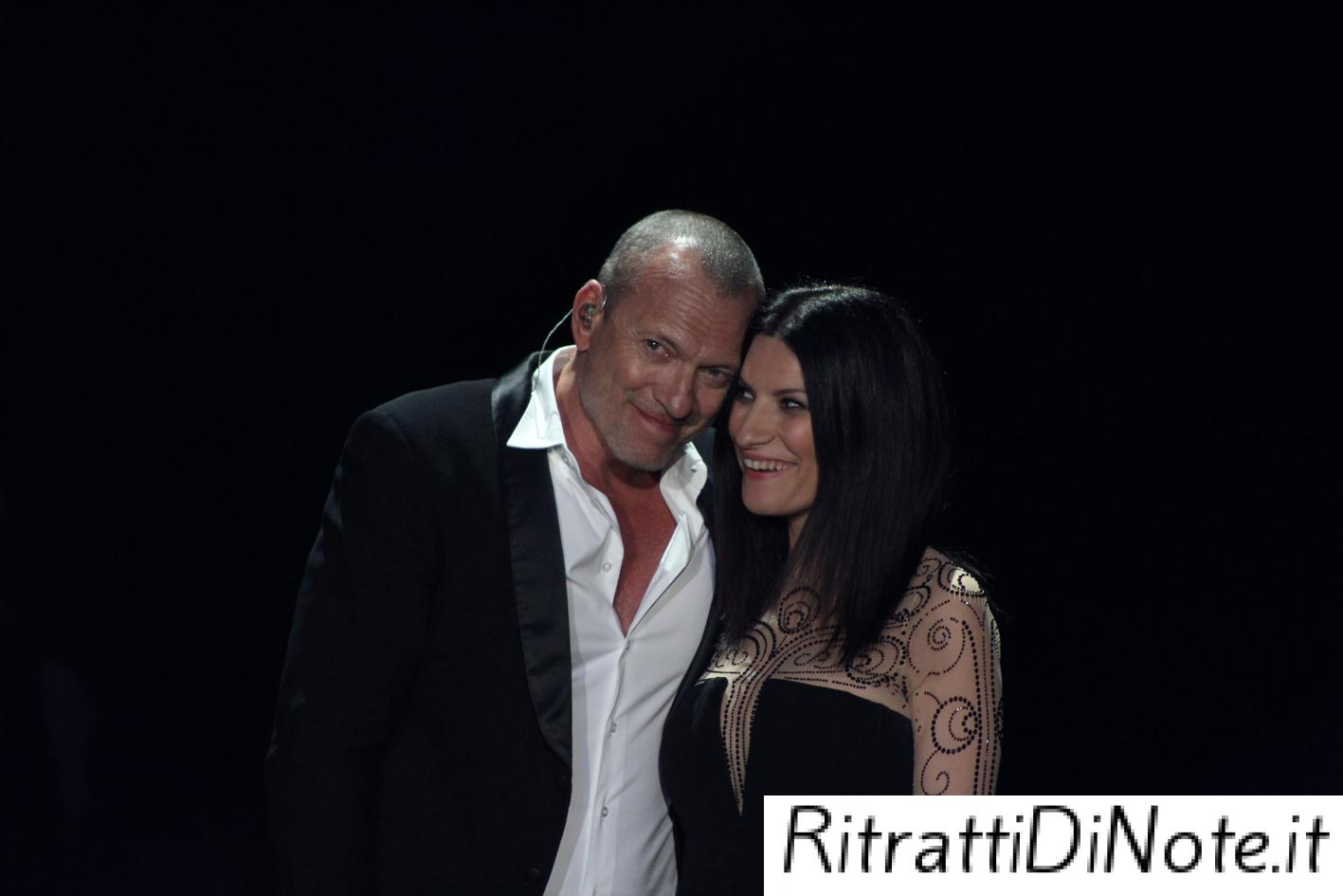 "Laura Pausini e Biagio Antonacci ©""The Theater at Madison Square Garden"""