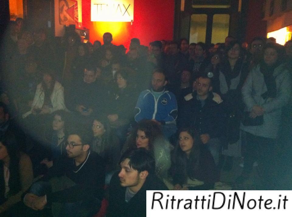 Il pubblico del circolo culturale Tenax di Scafati