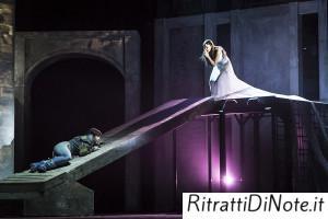 Sboccia l'amore tra Romeo e Giuletta Ph Luigi Maffettone