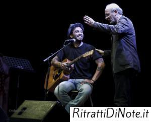 Fabrizio Moro e Stefano Mannucci Ph Roberta Gioberti