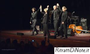 Emiliano Begni,  Francesco Consaga, Ermanno Dodaro, Rossana Casale @Auditorium Parco della Musica di Roma Ph Roberta Gioberti