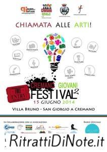 Locandina ufficiale Cremano Giovani Festival (2)