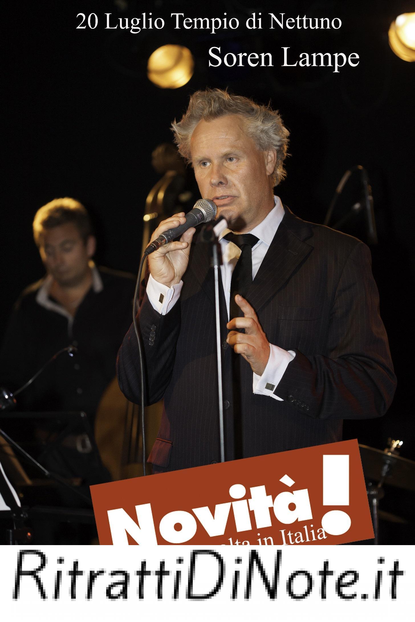 Pozzuoli Jazz Festival 2014 - Soeren-lampe-vocal