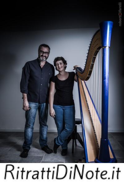 Marcella Carboni e Max De Aloe