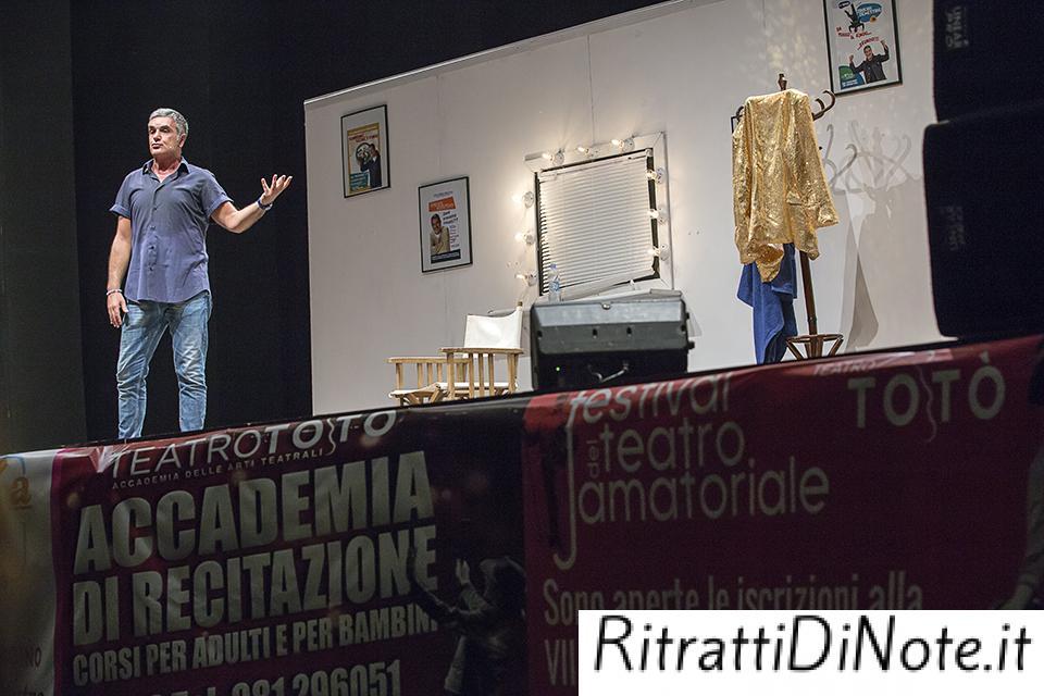 """Simone Schettino in """"Se permettere vorrei andare oltre"""" @Maschio Angioino Ph Fiorella Passante"""