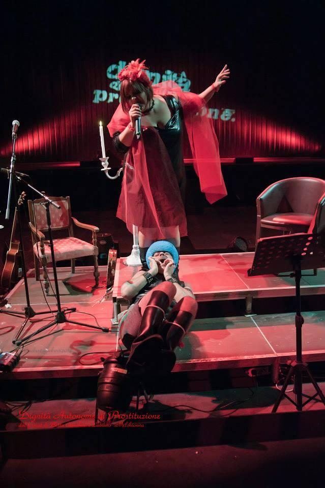 Dignità autonome di Prostituzione @Teatro Brancaccio Ph Roberta Gioberti