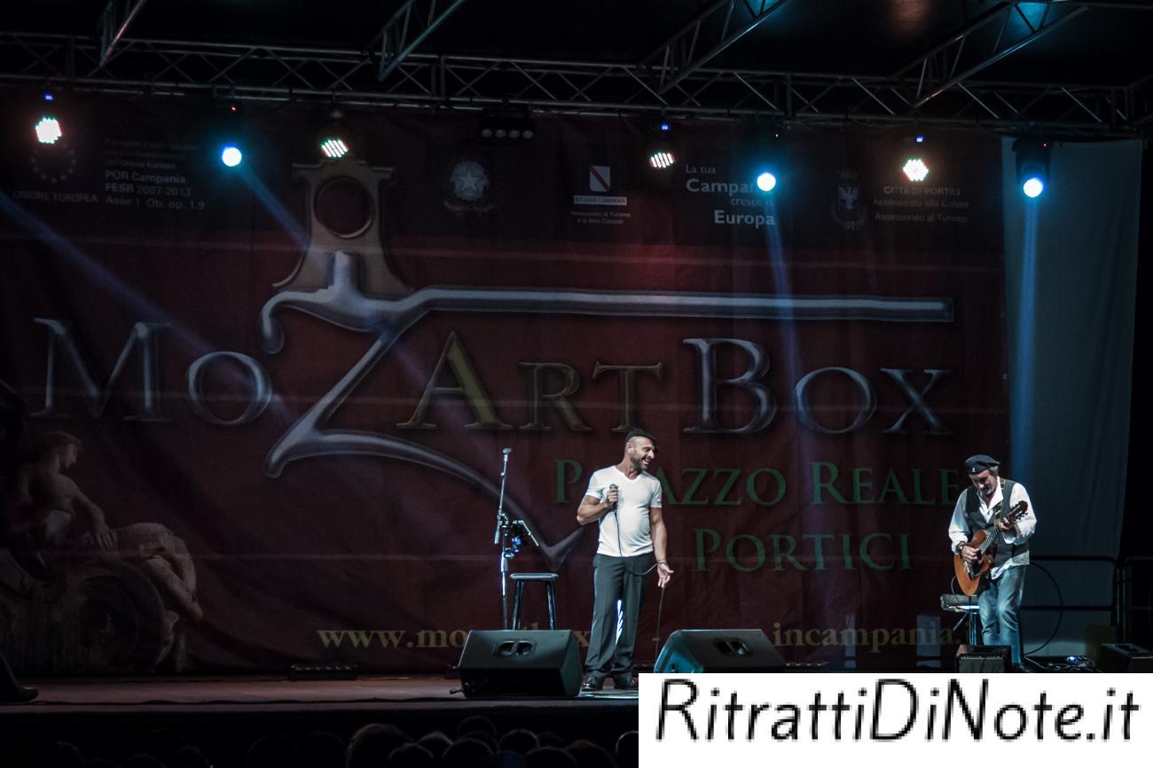 Raiz e Fausto Mesolella @ MozArt Box 2014 Ph Luigi Maffettone