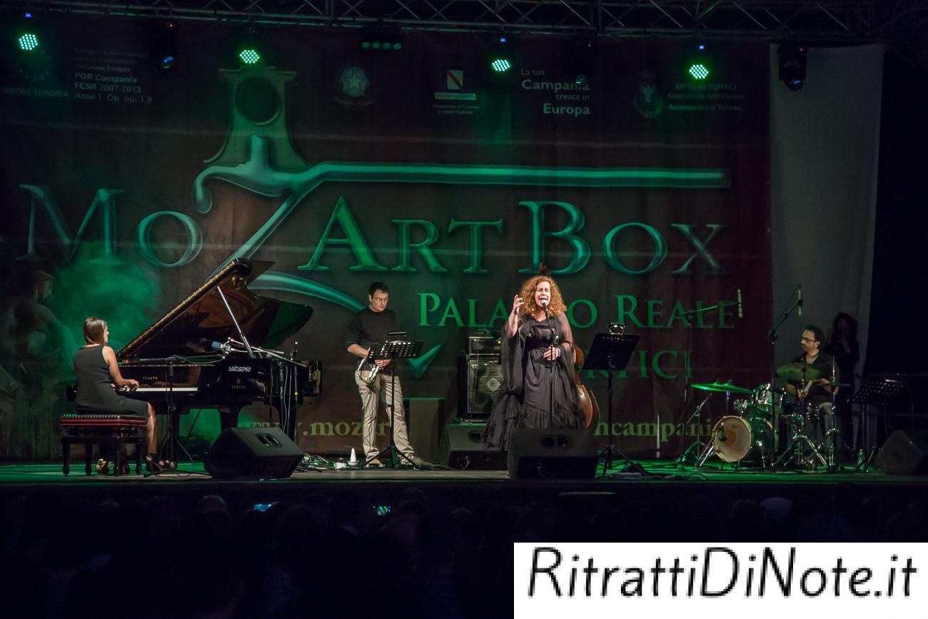Elisabetta Serio Trio Ft. Sarah Jane Morris @MoxArt Box 2014 Ph Luigi Maffettone