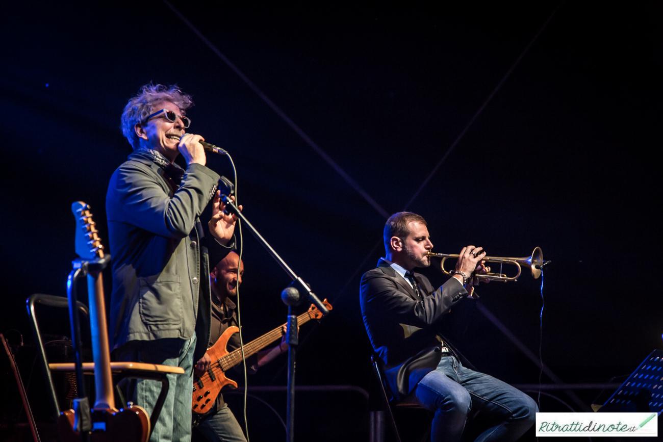 Fabrizio Bosso e Fabio Concato @Mozart Box 2014 Ph Luigi Maffettone
