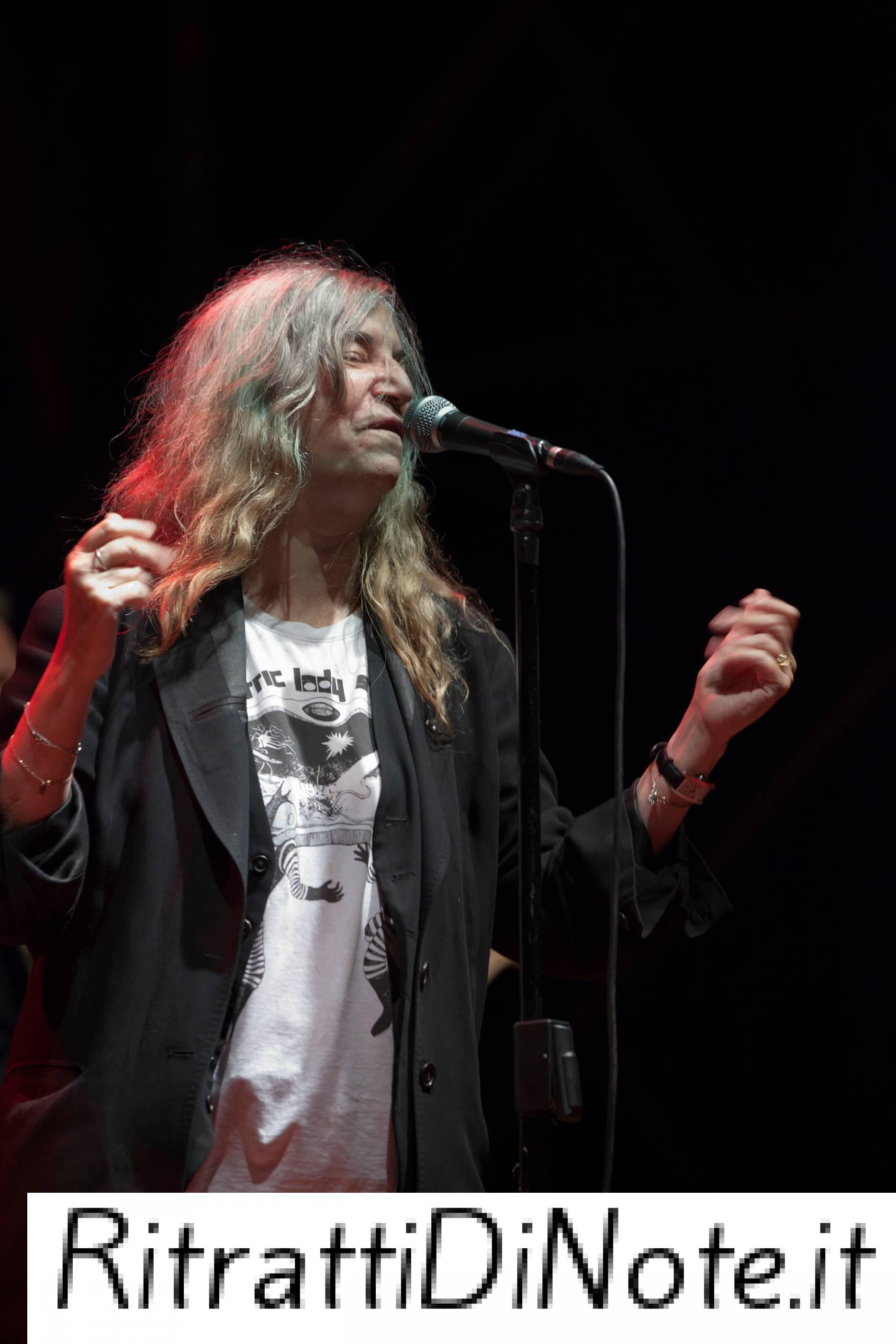 Patti Smith and her Band @ Equinozio d'Autunno Ph Anna Vilardi