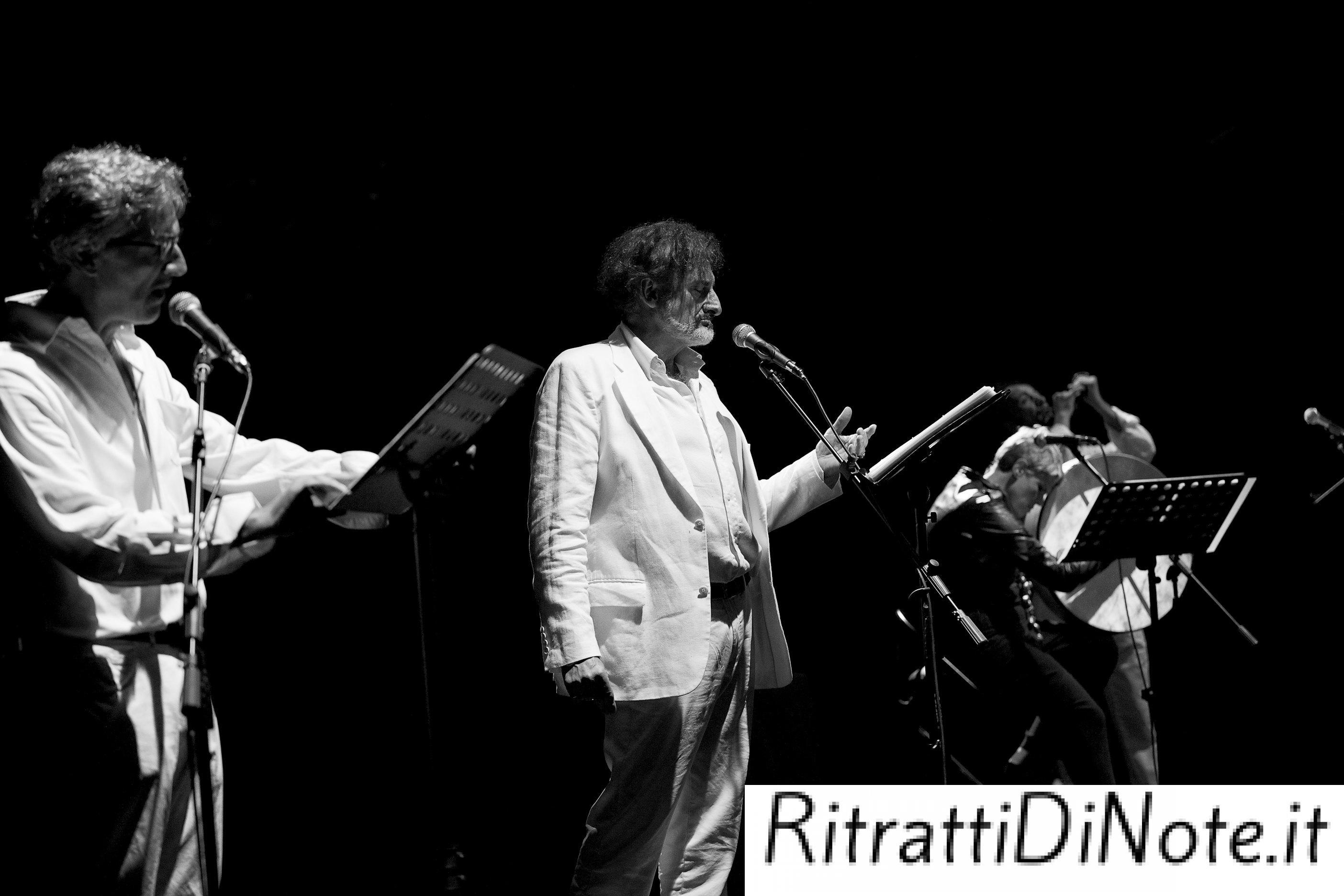 """Massimo Venturiello -Tosca in """"'Nu pianneforte 'e notte"""" @ Casamarciano Ph Anna Vilardi"""