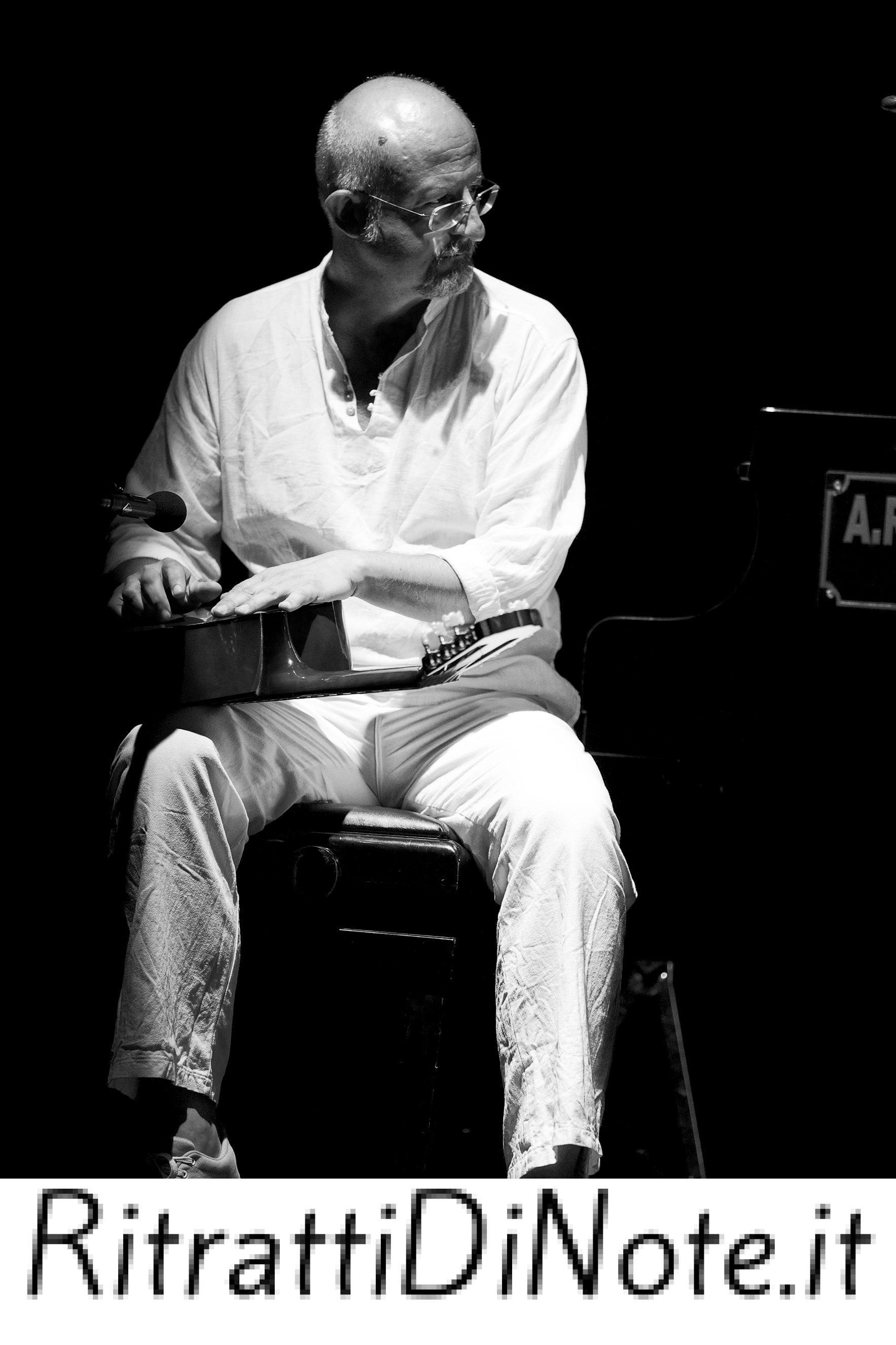 """Massimo Venturiello -Tosca in """"'Pianneforte 'e notte"""" @ Casamarciano Ph Anna Vilardi"""