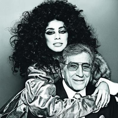 Tony Bennett e Lady Gaga Ph Steven Klein