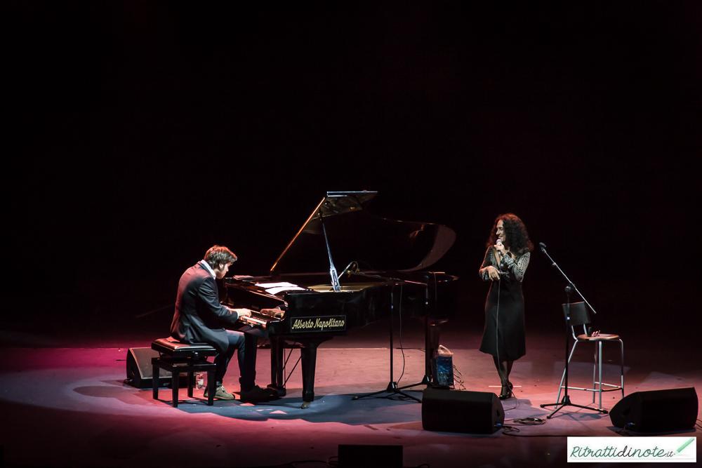 Alessandro Lanzoni e Barbara Casini @ I colori del jazz Ph Luigi Maffettone