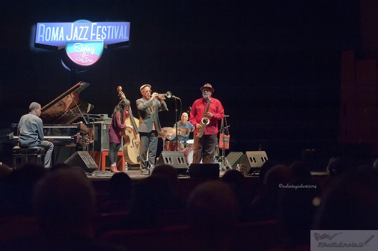 Lovano & Douglas: Sound Prints Quintet @ Auditorium Parco della Musica Ph Roberta Gioberti