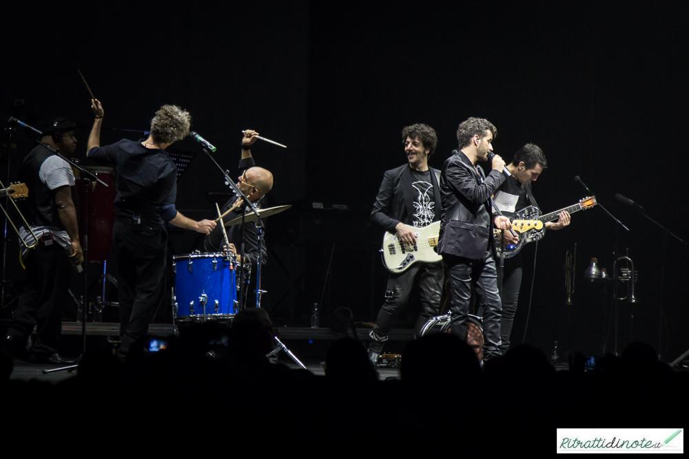 Fabi Silvestri Gazzè in tour Ph Luigi Maffettone