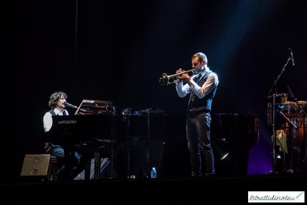 Sergio Cammariere live feat. Fabrizio Bosso Ph Luigi Maffettone