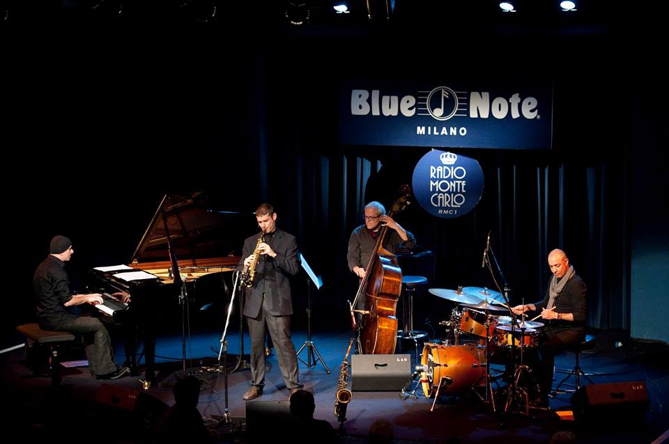 Tommaso Starace quartet live @ Blue Note Ph Christian Candela
