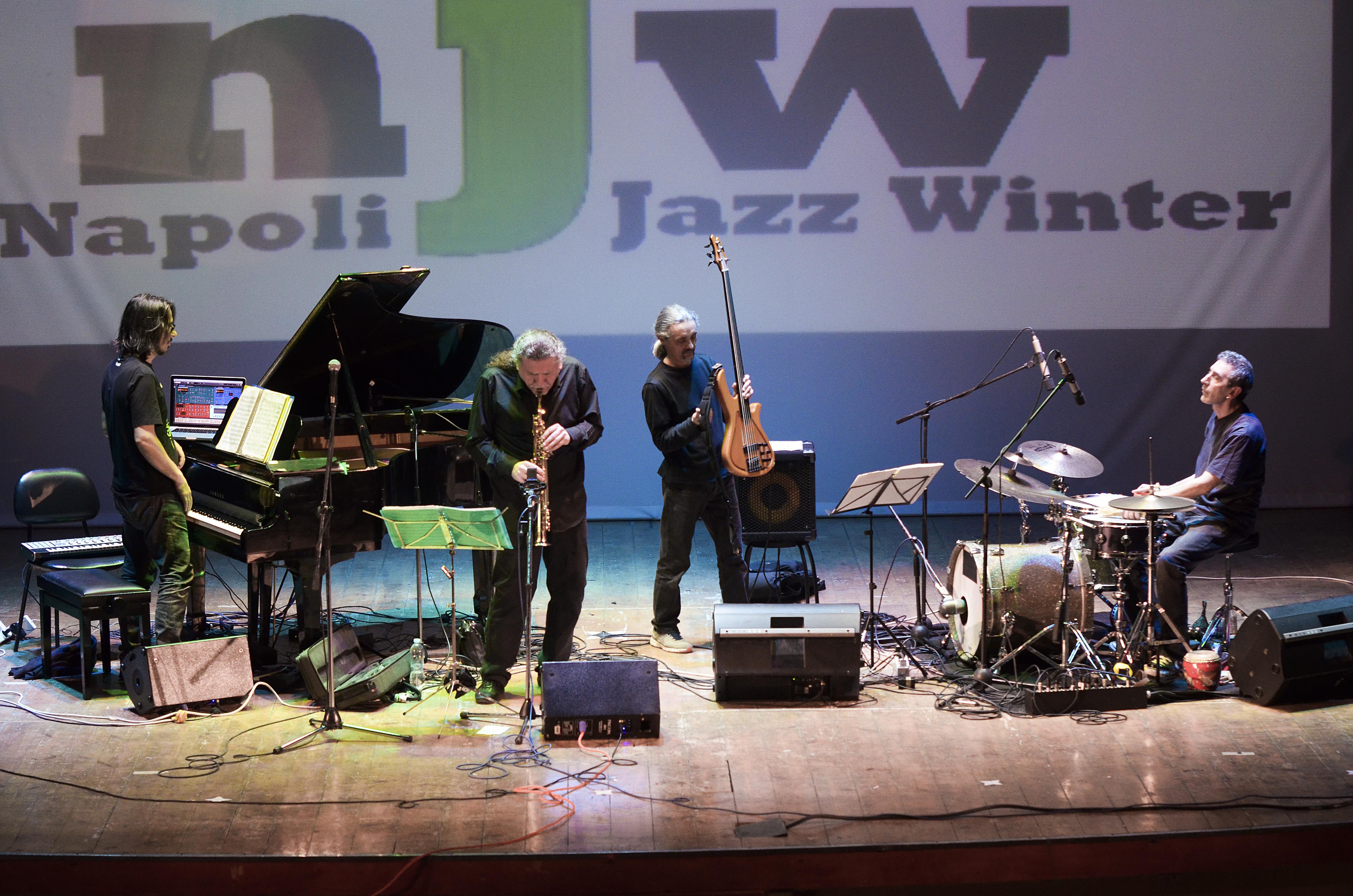 Javier Girotto e Aires Tango live @ Napoli jazz winter Ph Roberta Gioberti