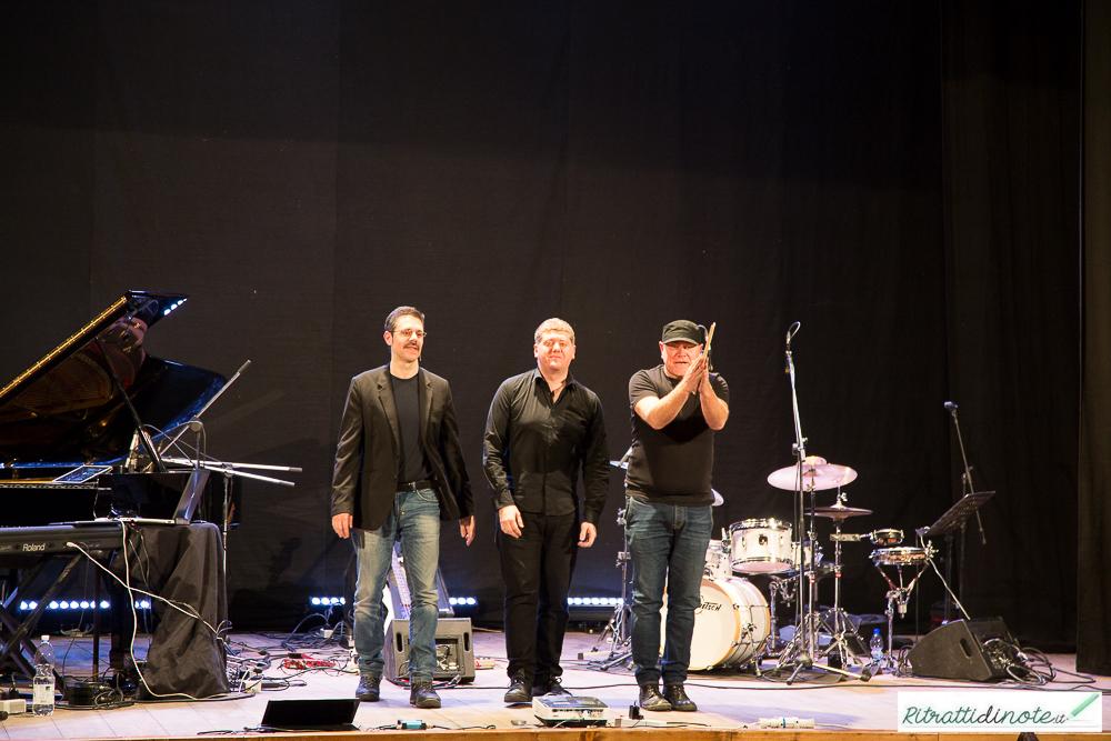 Roberto Gatto perfect trio ph Luigi Maffettone