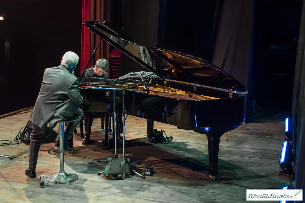 Andrea Pozza & Scott Hamilton live @ SummArte in Jazz ph Luigi Maffettone