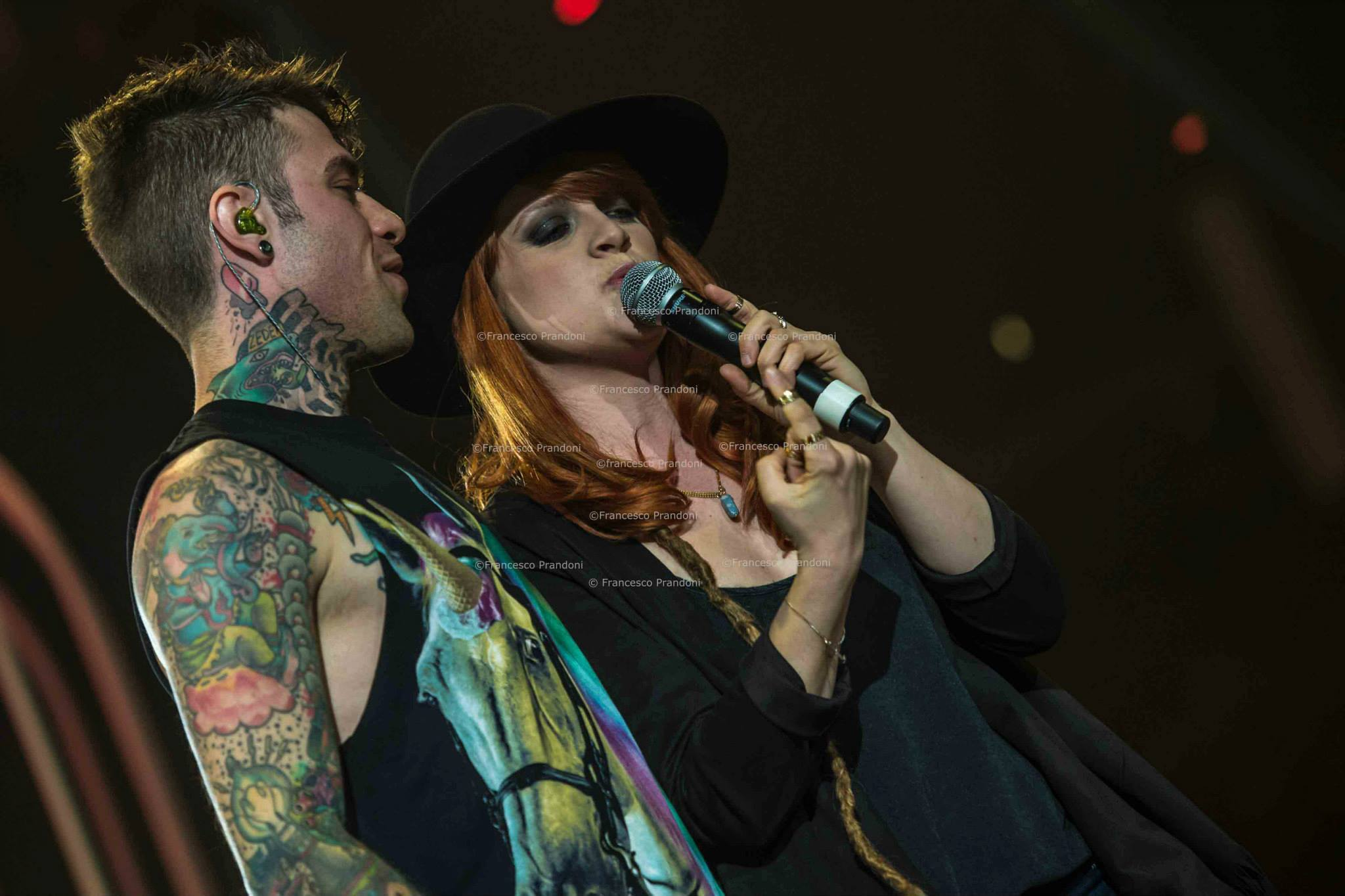 Fedez live @ Mediolanum Forum Assago feat. Noemi  ph Francesco Prandoni