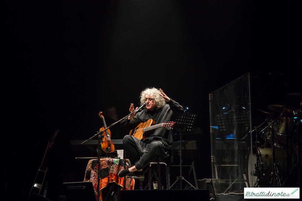 Angelo Branduardi live @ Teatro Bellini Ph Luigi Maffettone
