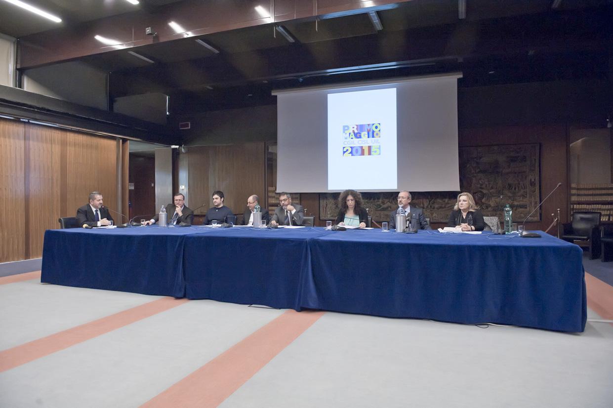 Conferenza stampa Primo Maggio ph M.L.Avella