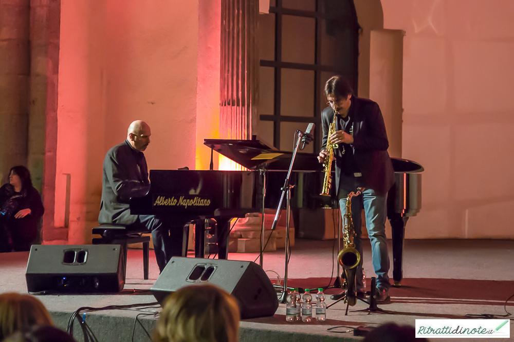 Dado Moroni & Max Ionata @ Catacombe di San Gennaro - Ph Luigi Maffettone