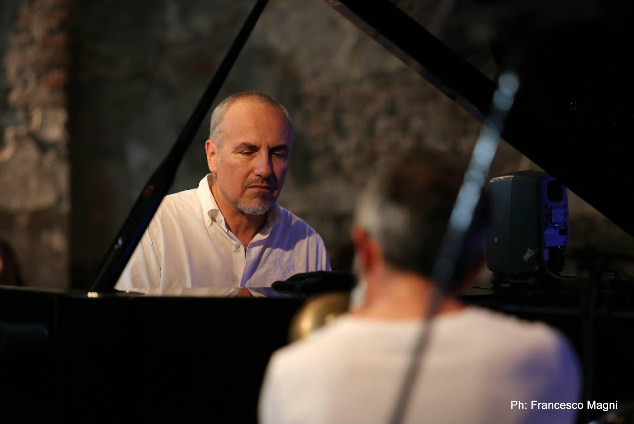 Fresu e Rea @ Presentazione Umbria Jazz 2015 ph Francesco Magni