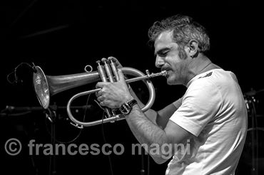 Fresu @ Presentazione Umbria Jazz 2015 ph Francesco Magni