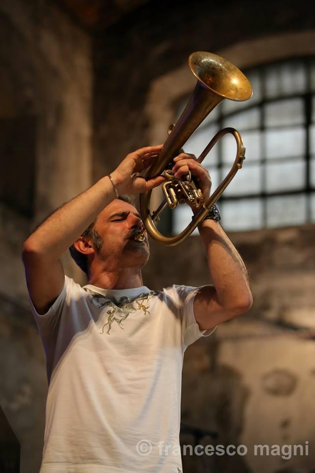 Fresu @ Presentazione Umbria Jazz 2015 ph Francesco Magni