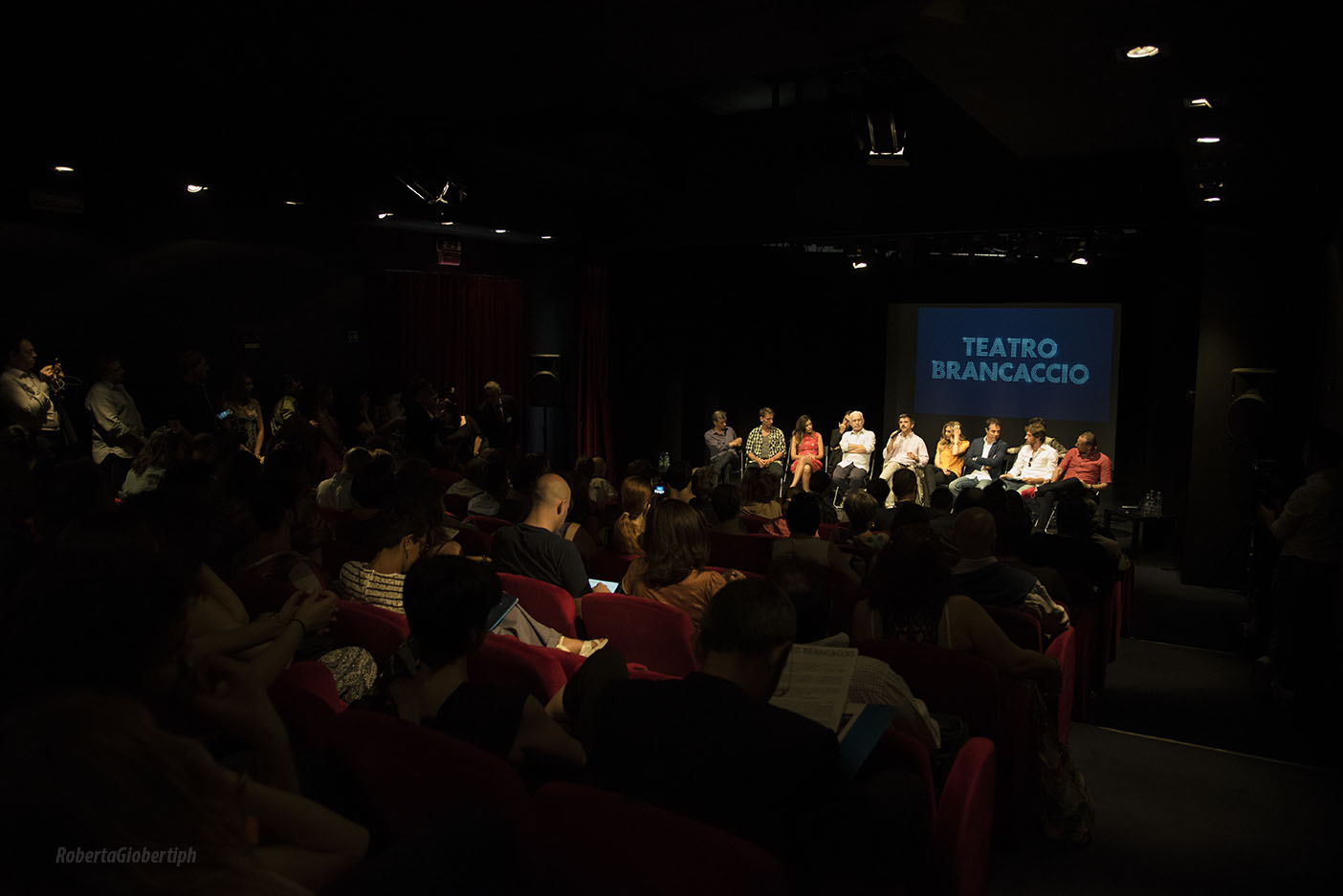 Presentazione stagione 2015/2016 Teatro Brancaccio ph Roberta Gioberti