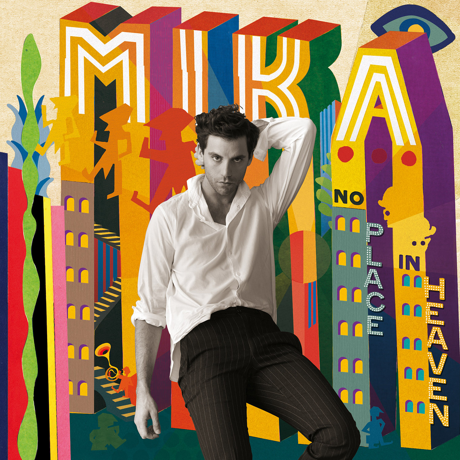 MIKA_NO PLACE IN HEAVEN_cover