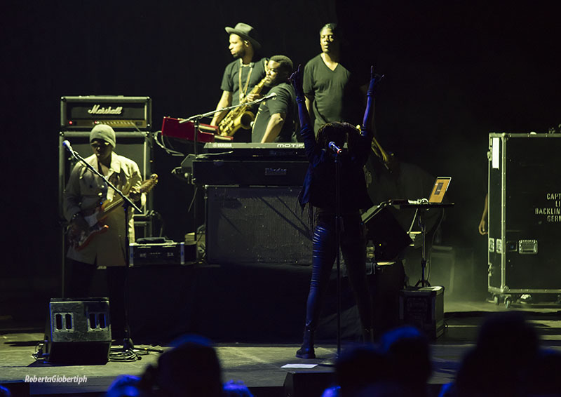 D'Angelo and The Vanguard @ Auditorium Parco della Musica ph Roberta Gioberti