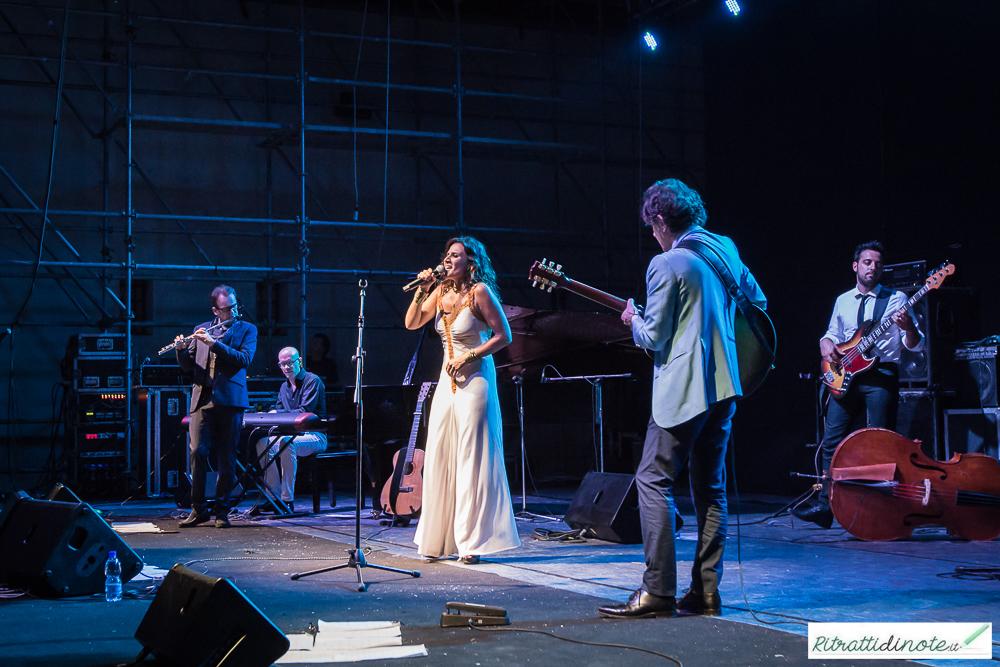 Chiara Civello live @ Castel Sant'Elmo ph Luigi Maffettone