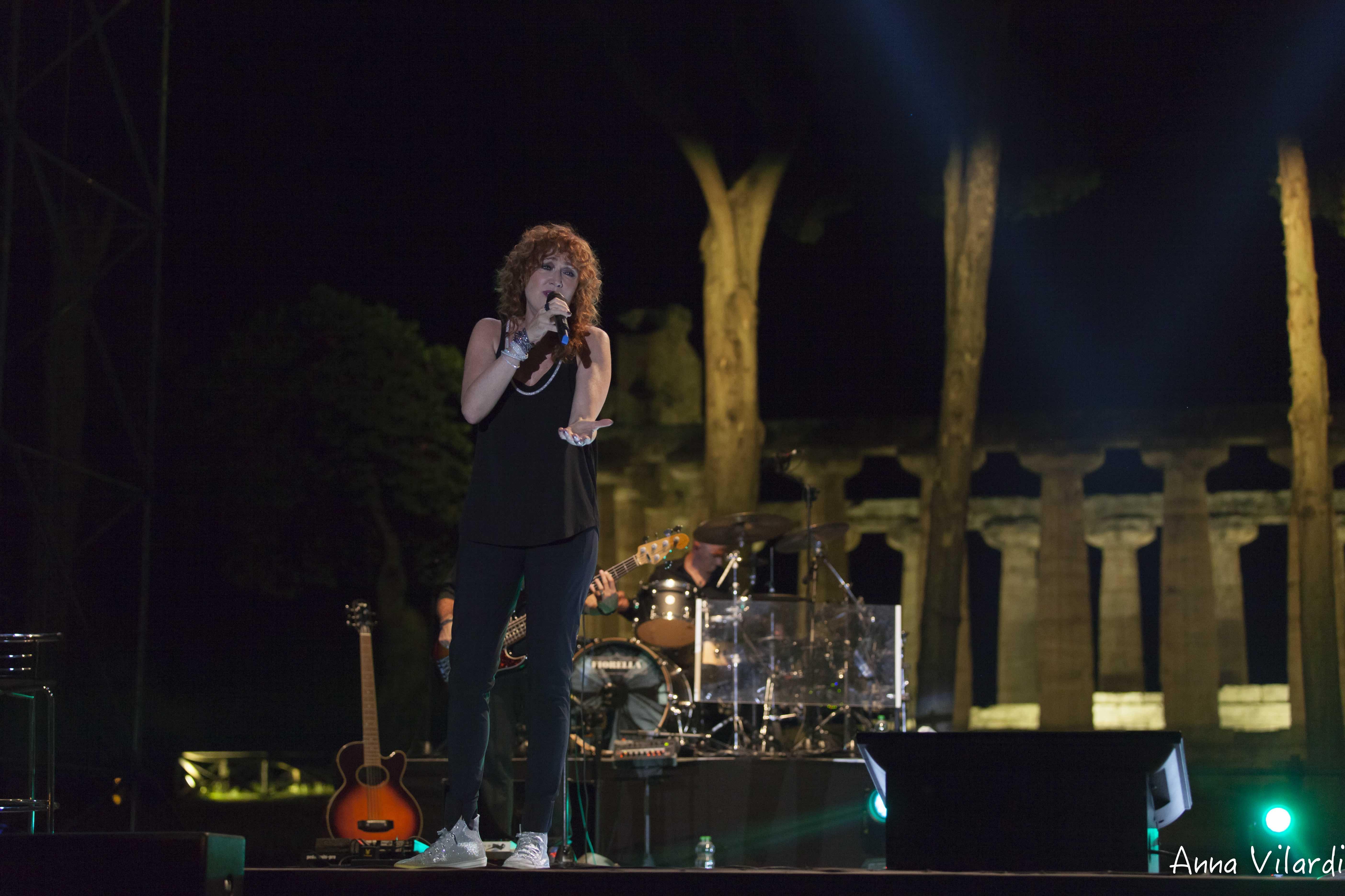 Fiorella Mannoia live @ Paestum ph Anna Vilardi