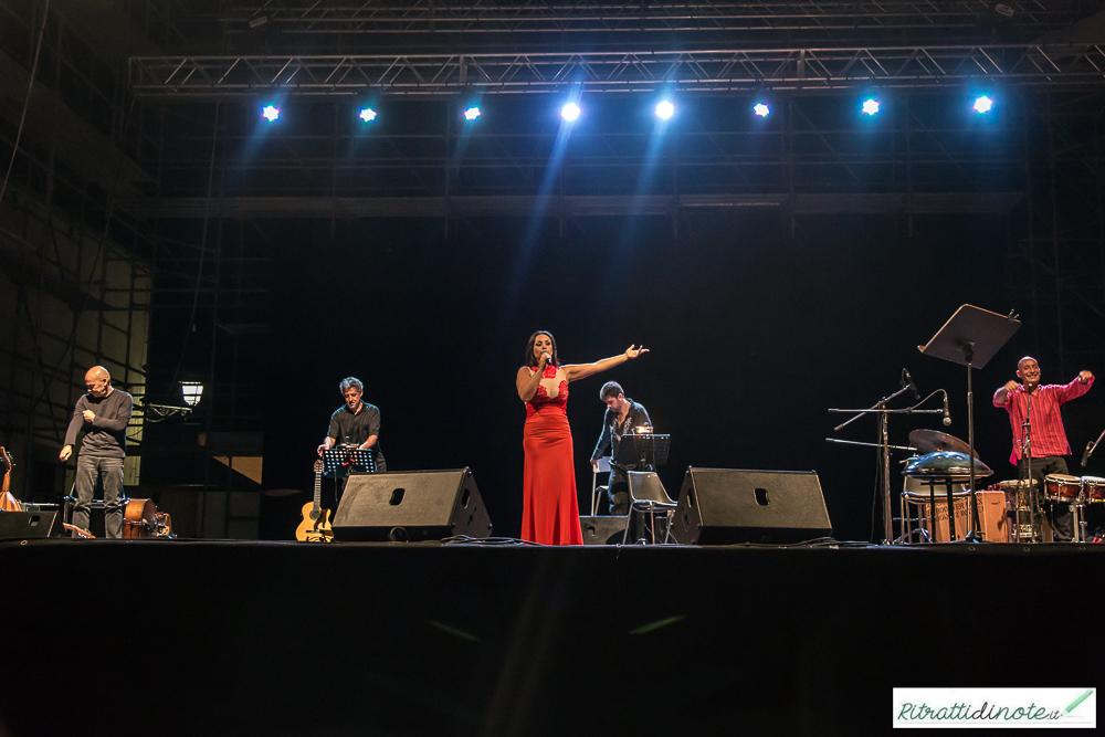 Maria Nazionale live @ Castel Sant'Elmo ph Luigi Maffettone