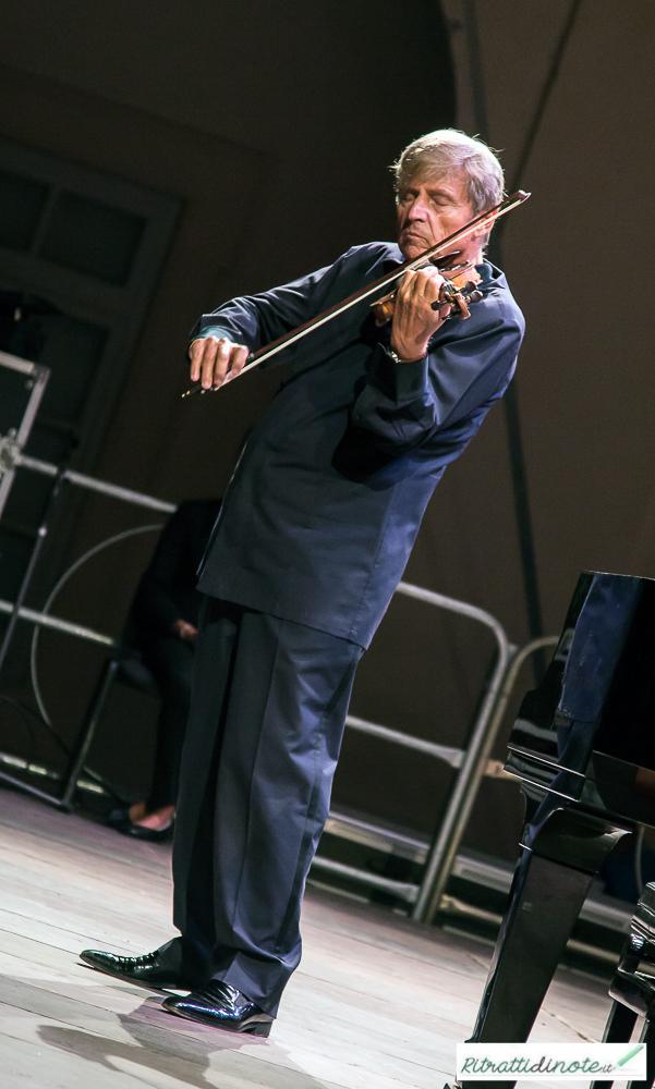 Uto Ughi live @ Leuciana Festival ph Luigi Maffettone