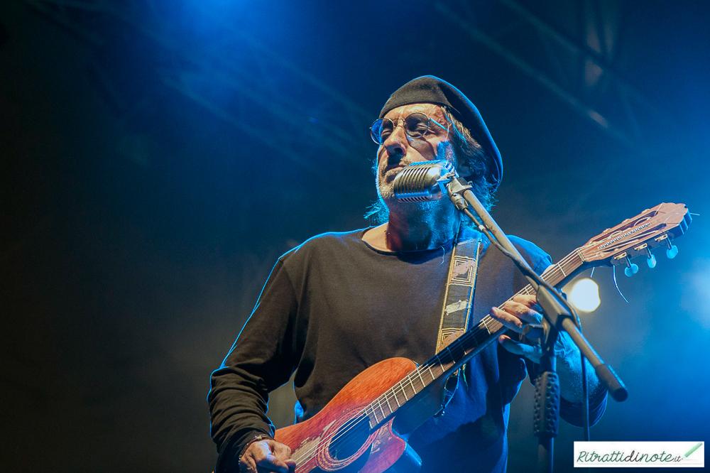 Fausto Mesolella live @Leuciana Festival ph Luigi Maffettone