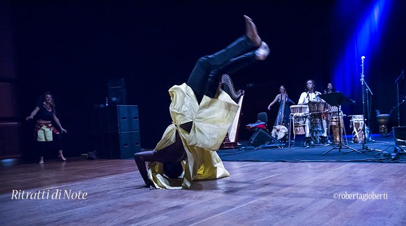 Pape Kanouté live @ Auditorium Parco della Musica ph Roberta Gioberti