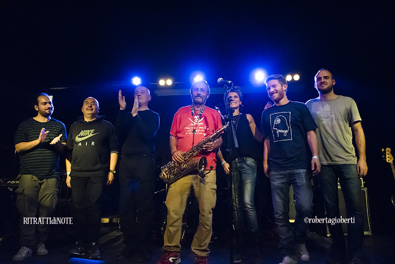 Daniele Sepe & band live @ Monk -  Roma ph Roberta Gioberti