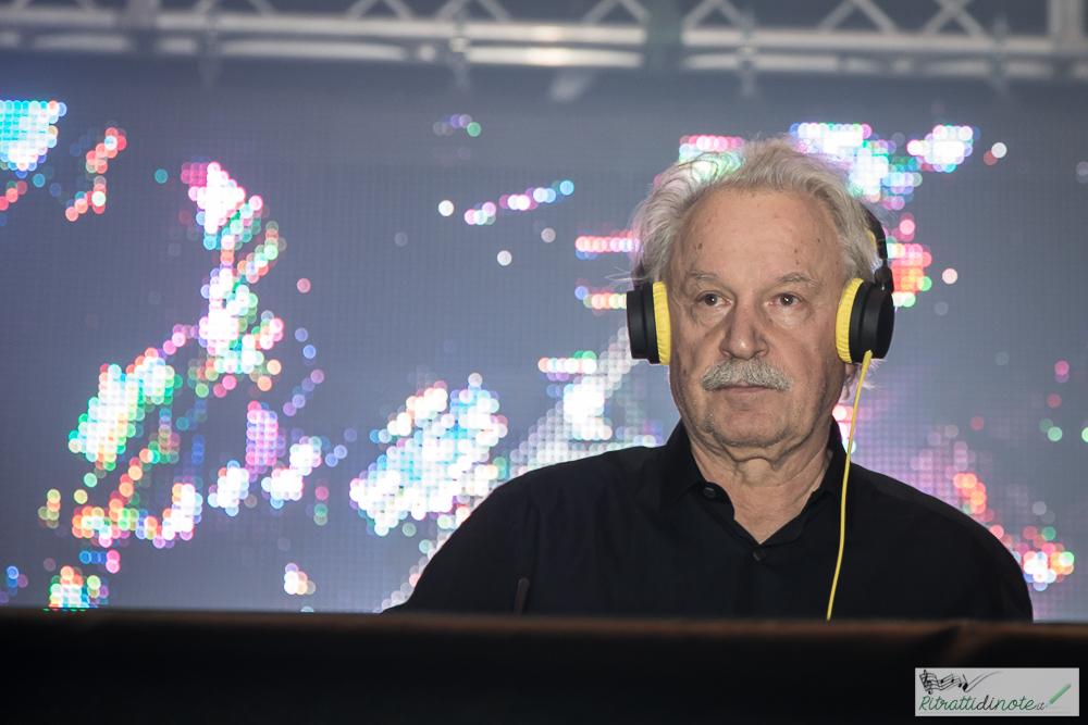 Giorgio Moroder @ Casa della Musica - Napoli ph Luigi Maffettone