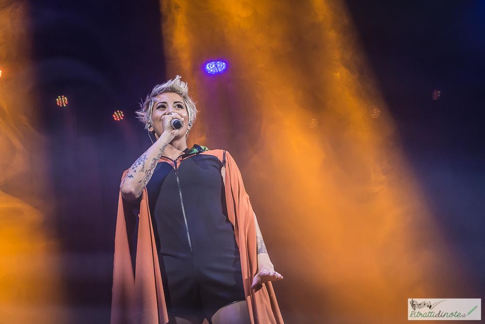 Malika Ayane live @ Teatro Augusteo ph Luigi Maffettone