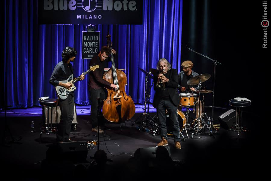 Enrico Rava New Quartet live @Blue Note