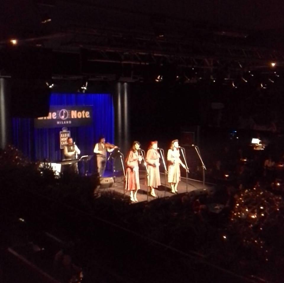 Le Sorelle Marinetti live @ Blue Note - Milano