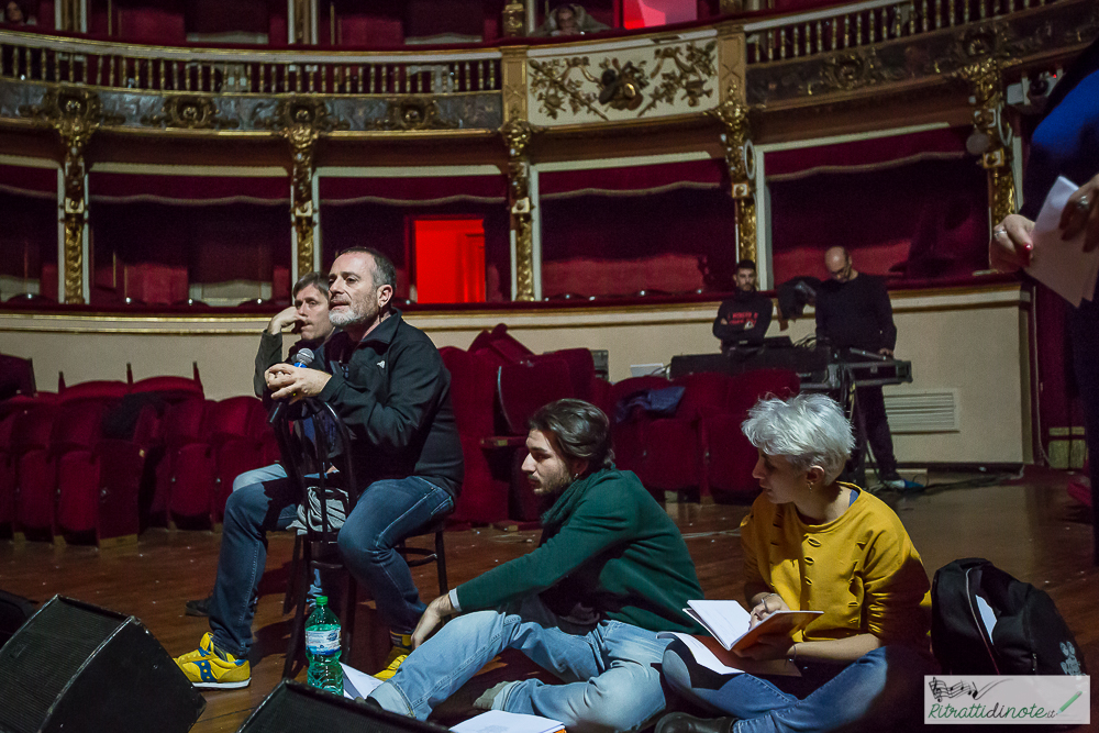 Dignità Autonome di Prostituzione -Prove generali -Teatro Bellini ph Luigi Maffettone