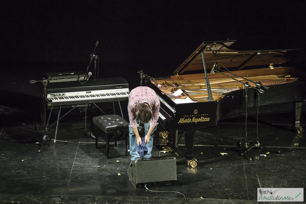 Stefano Bollani @ Teatro Augusteo -Napoli ph Luigi Maffettone