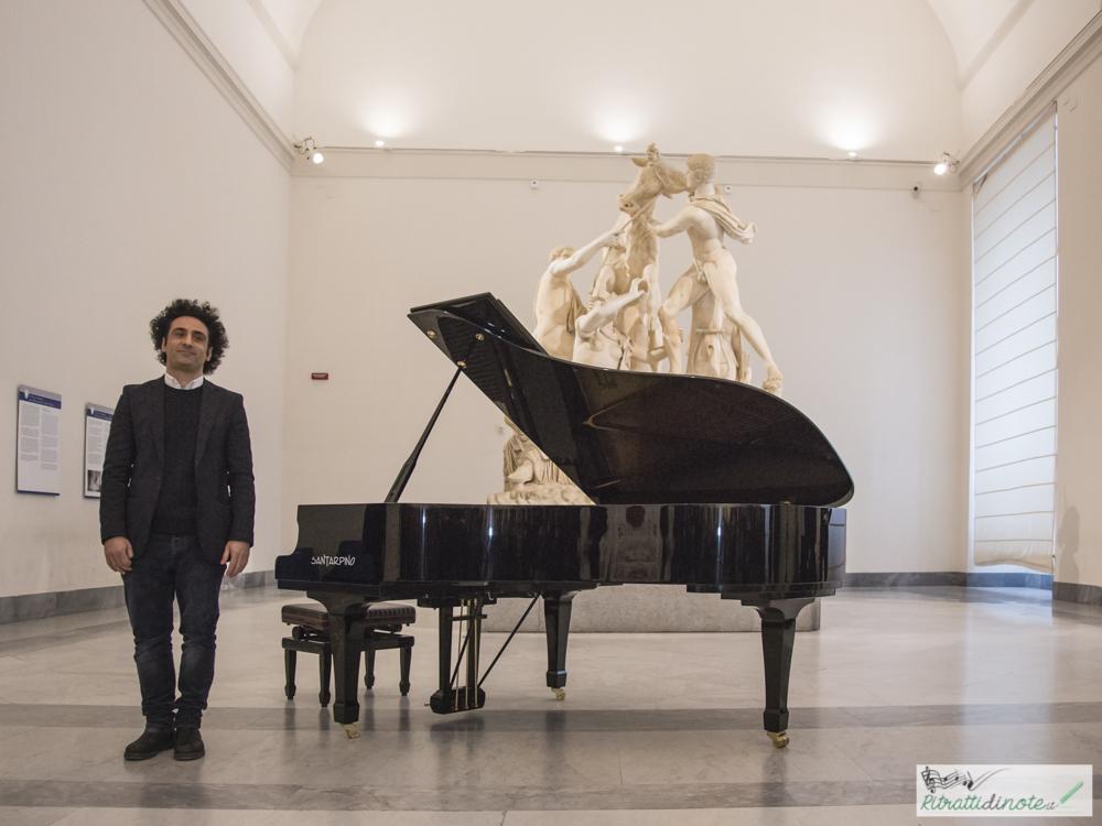 Erri De Luca @ Museo Archeologico Nazionale di Napoli ph Luigi Maffettone
