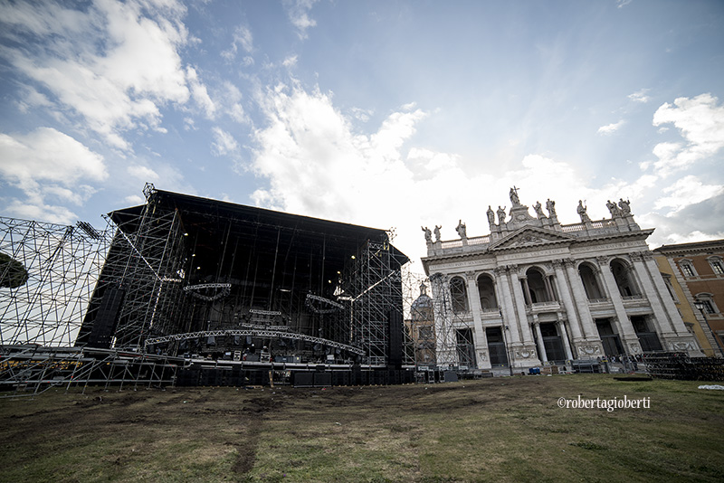 Primo Maggio Roma - I preparativi ph Roberta Gioberti